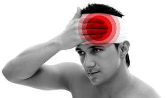 травма головы у мужчины