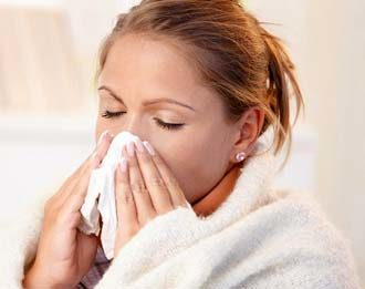 насморк может стать причиной появления полипов
