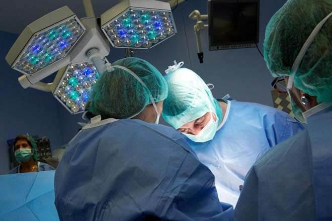 ход операции по удалению аденомы простаты